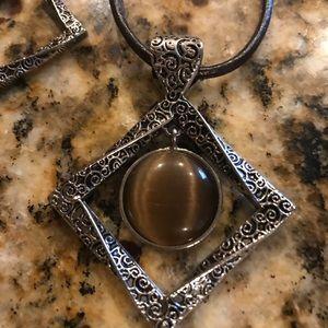 Lia Sophia necklace and earring set